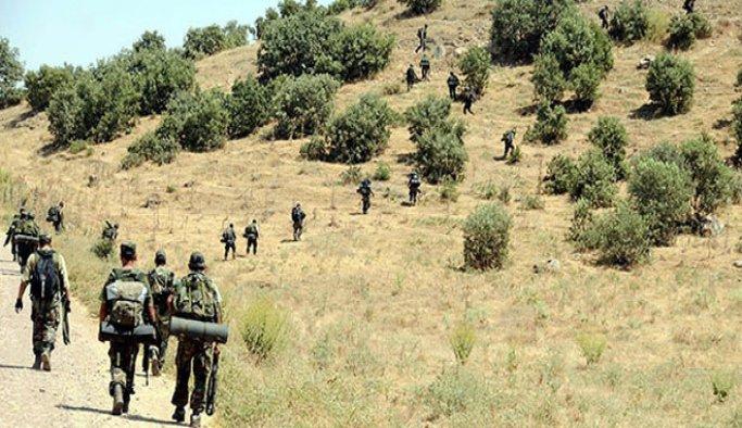 Hakkari'de iki PKK'lı terörist öldürüldü