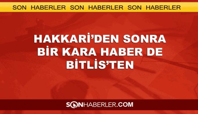 Hakkari'den sonra bir saldırıda Bitlis'te