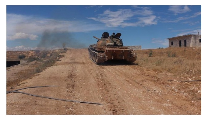 Halep'te 8 İran askeri öldürüldü