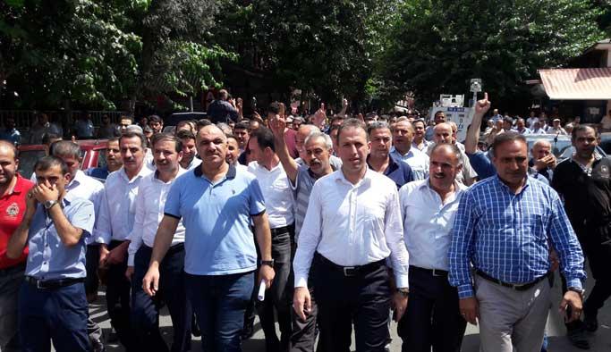 Halk Siirt'te teröre karşı nöbete başlıyor