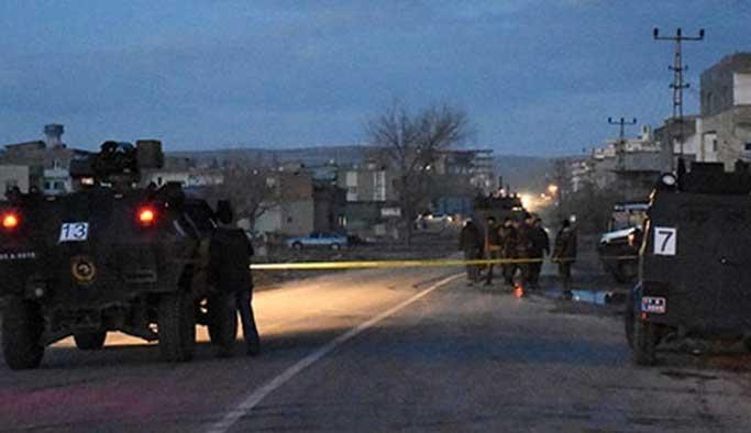 Hasanbeyli ilçesinde jandarma karakoluna saldırı