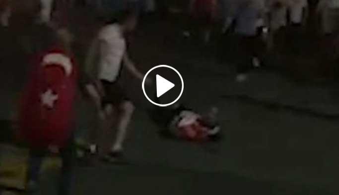 Havalimanında kan donduran görüntüler VIDEO