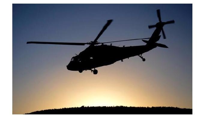 Helikopter alçak uçuş yaptı: 1 yaralı
