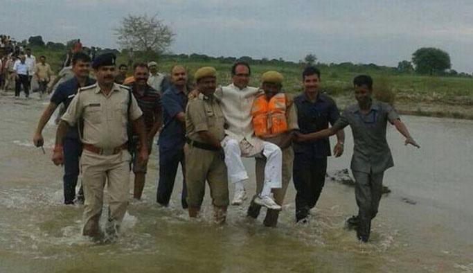 Hindistan'dan utanç karesi