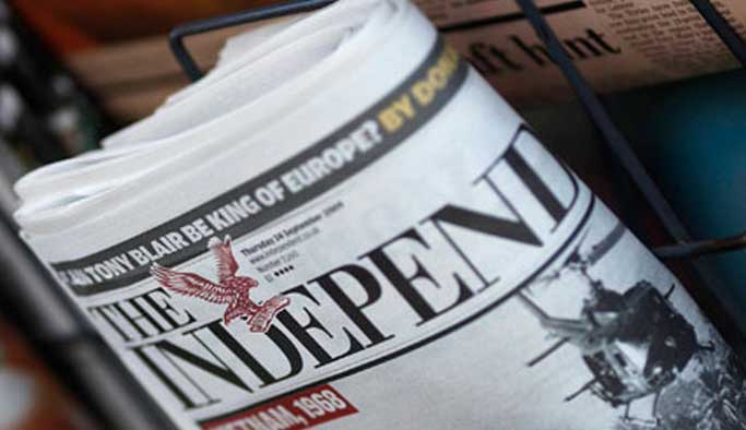 İngiliz gazete Esad saldırılarını Türkiye'ninki diye verdi