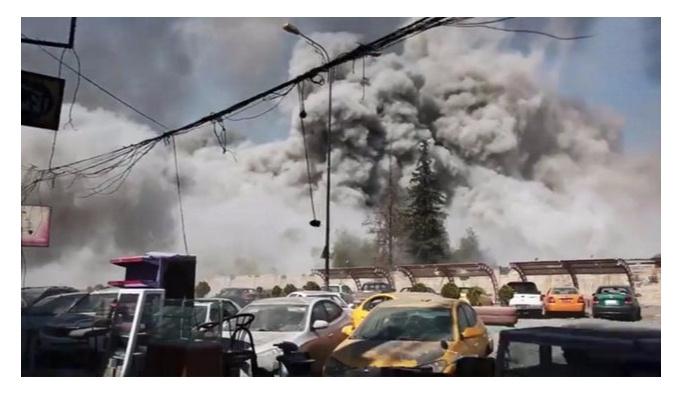 Irak ordusu Musul'u bombaladı, 7 ölü