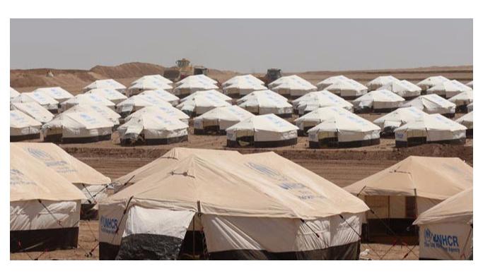 Irak'taki çadır kentler yetersiz