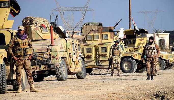 Irak ordusundan DAEŞ'e operasyon