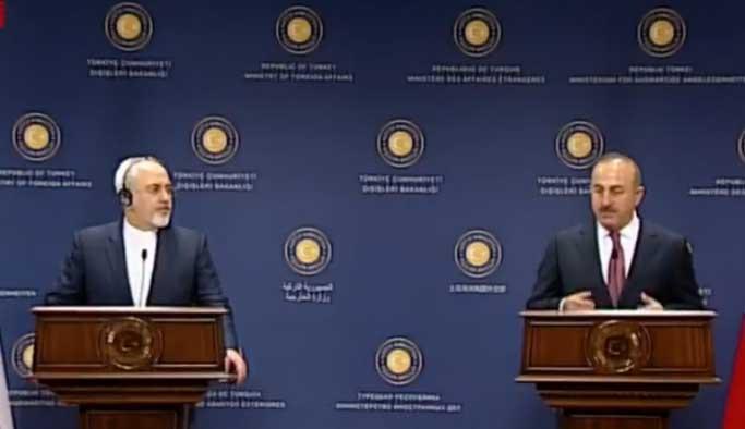 İran Dışişleri Bakanı Zarif Ankara'da