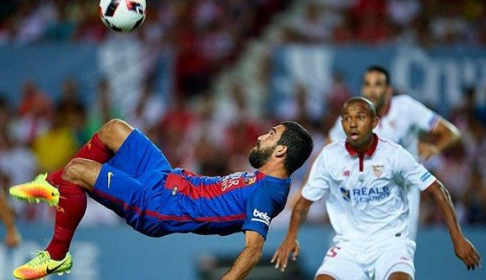 İspanya Süper Kupası'nda Barcelona avantaj sağladı