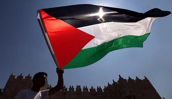 İsrail hapishanelerindeki Filistinliler için gösteri düzenlendi