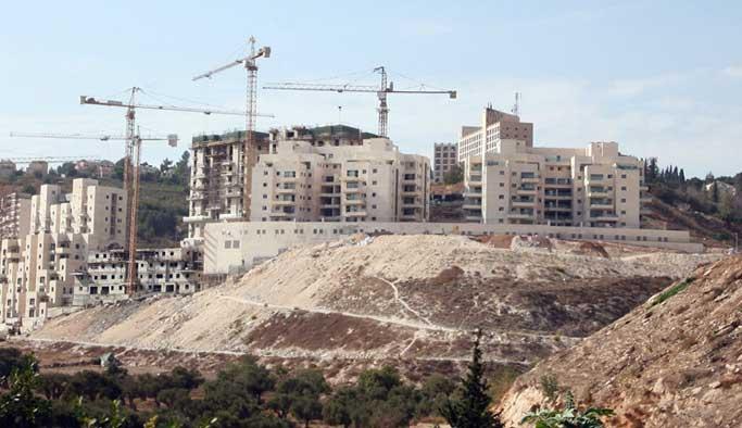 İsrail'den yeni 'işgal konutları' projesi