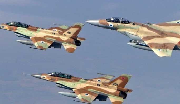 İsrail uçakları Suriye'ye ait füze rampasını vurdu