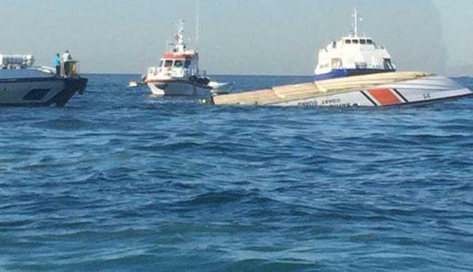 Boğaz'da gemi kazası, sahil güvenlik botu battı: 3 Şehit