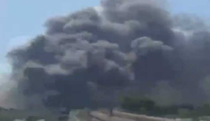 İstanbul Merter'de büyük yangın