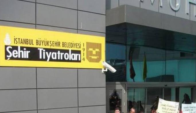 İstanbul Şehir Tiyatroları'nda FETÖ operasyonu