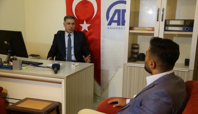 ITC Başkanı Salihi'den AA Bağdat ofisine ziyaret