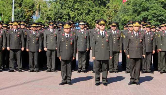Jandarma'da atamalar yapıldı