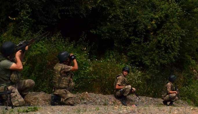 Karadeniz'deki teröristlerin yeri tespit edildi