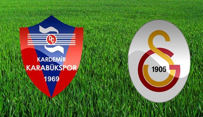 Kardemir Karabükspor'da Galatasaray maçı hazırlıkları