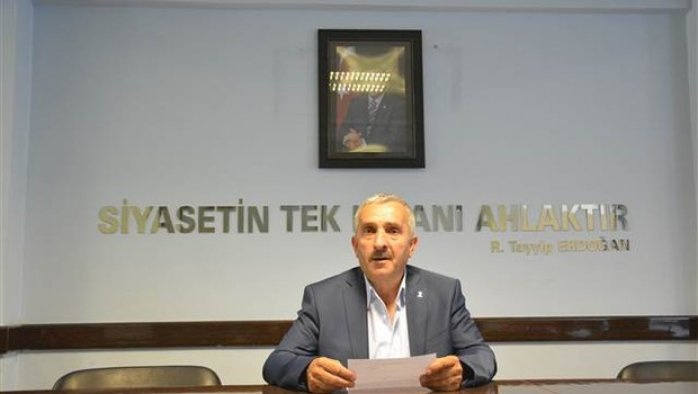 Kardeşi tutuklanan AK Partili başkan istifa etti