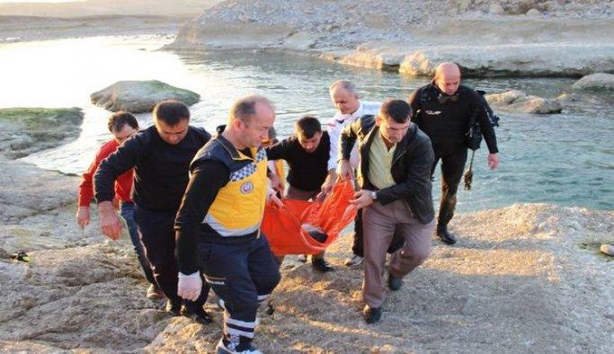 Kayseri'de baraj gölüne giren kişi boğuldu