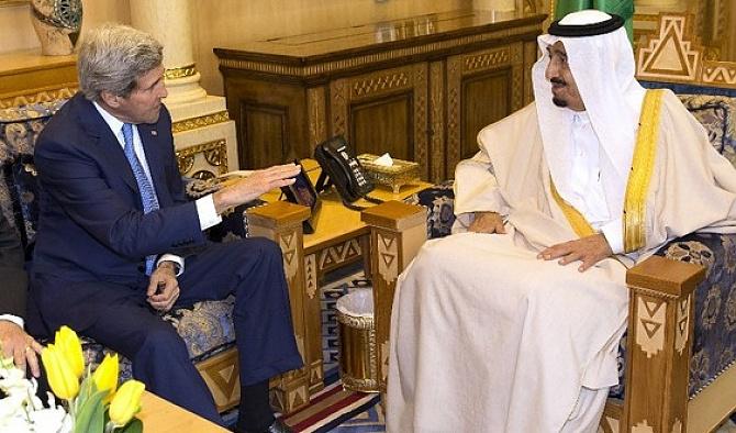 Kerry, Kral Selman'la görüştü