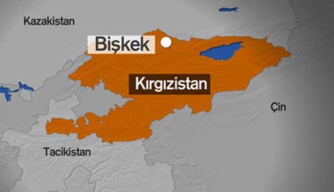 Kırgızistan'da Çin büyükelçiliği önünde patlama