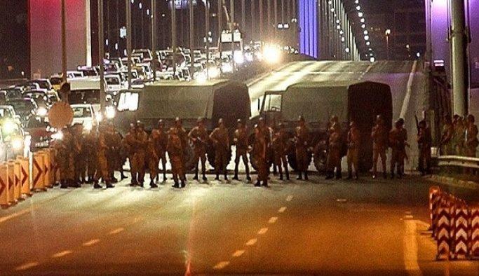 Köprüde ateş emri veren darbeciler yakalandı