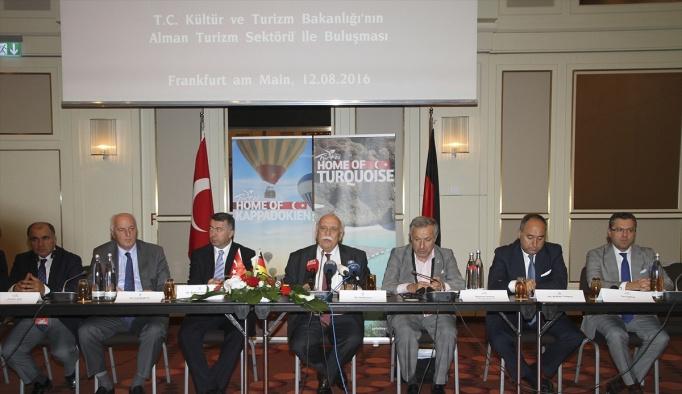 Kültür ve Turizm Bakanı Avcı, Almanya'da