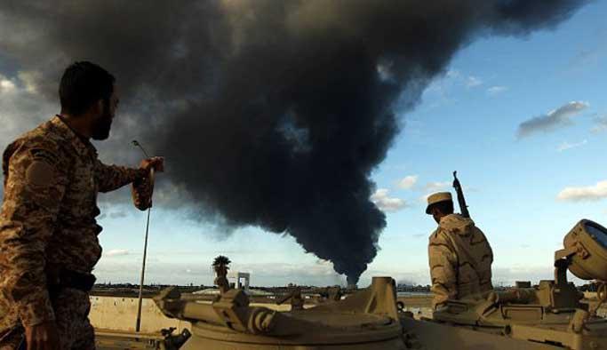 Libya'dan ABD'nin hava saldırılarına tepki
