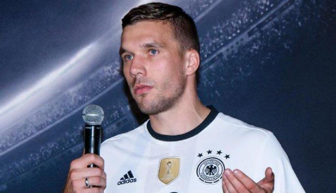 Lukas Podolski milli takımı bıraktı