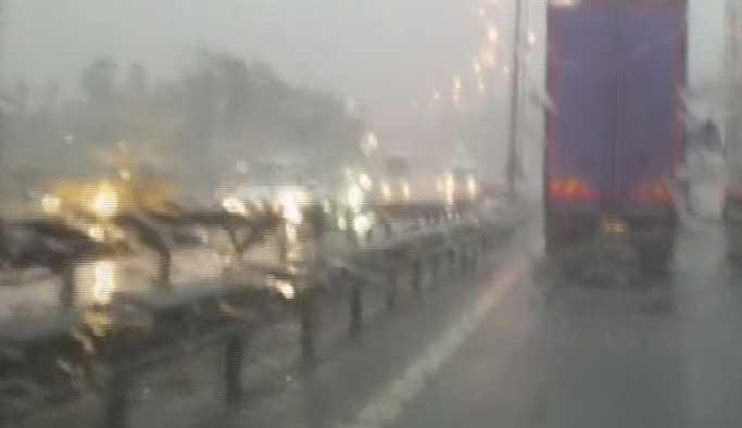 Marmara'da sağanak yağış bekleniyor HARİTALI