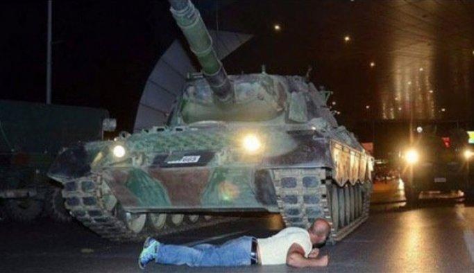 Metin Doğan, Zonguldak'da demokrasi nöbetinde