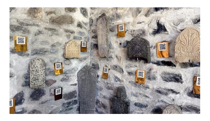 'Mezar Taşları Müzesi'nde 'karekod' dönemi