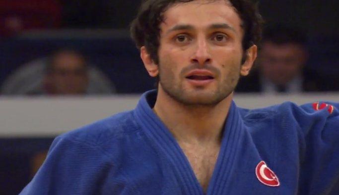 Milli judocu Bekir Özlü Rio'ya veda etti