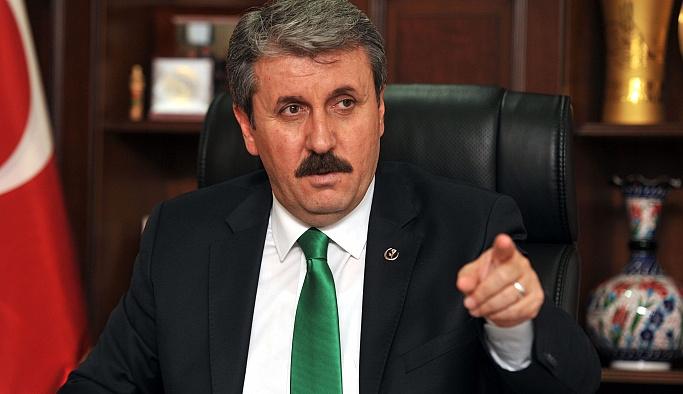 Mustafa Destici: 'Terörle mücadele konusunda önerilerde bulunuyoruz'