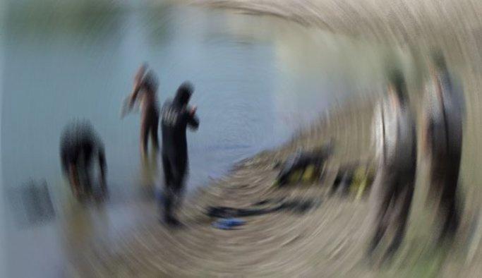 Nehirde kaybolan kişiyi arama çalışmaları sürüyor