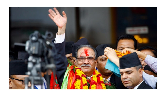 Komünist lider ikinci kez Nepal'in başbakanı oldu