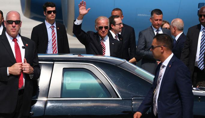 Obama'nın yardımcısı Biden, Ankara'da