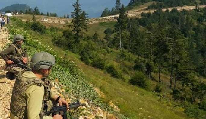 Ordu'da aranan teröristlerden biri öldürüldü