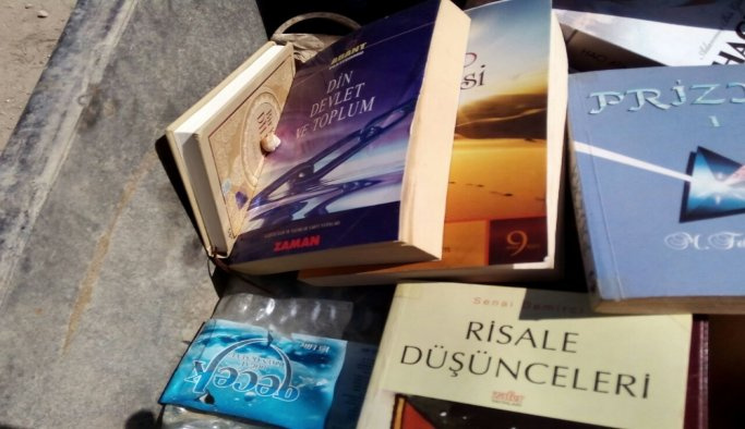 PKK'lının evinden Gülen'in kitapları çıktı