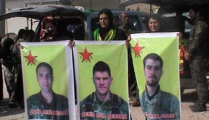 PKK/YPG üniformalı Amerikalılar öldürüldü