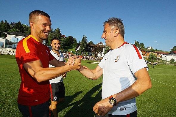 Podolski ilk antrenmanına çıktı