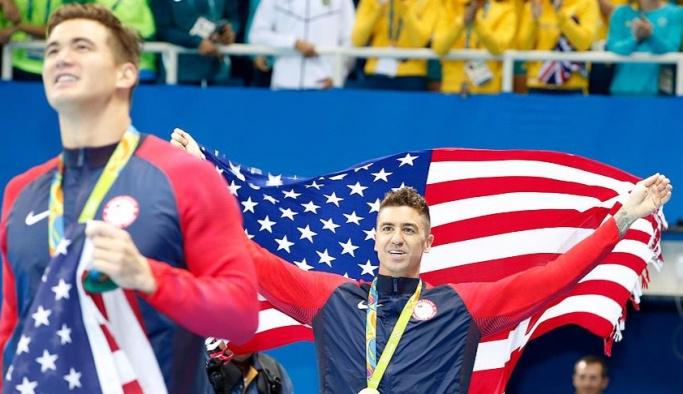 Rio 2016'da ABD 8. kez şampiyonluk