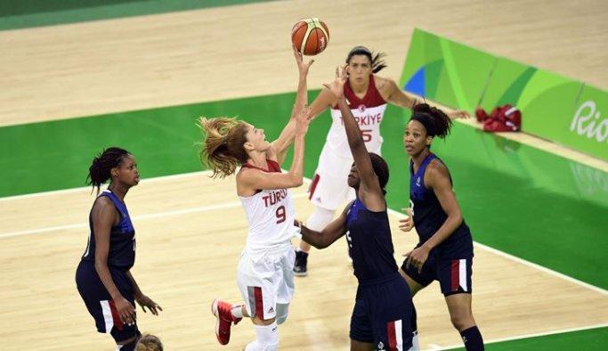 Rio 2016 'Türkiye: 39 - Fransa: 55'