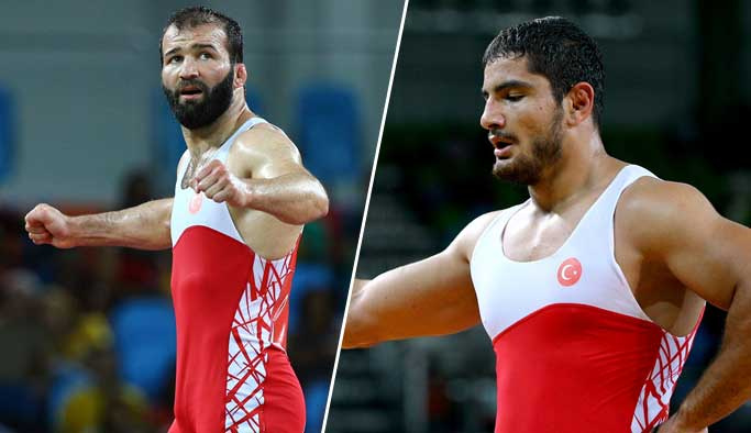 Rio'daki iki milli güreşçimiz finale kaldı