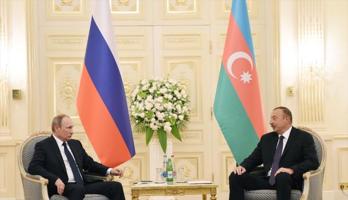 Putin Azerbaycan'da