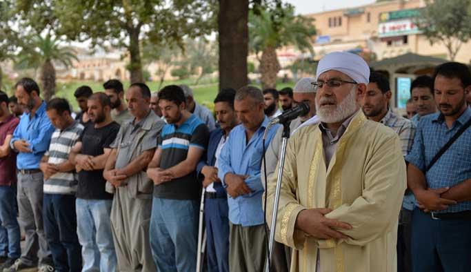 Şanlıurfa'da terör kurbanları için gıyabi cenaze namazı