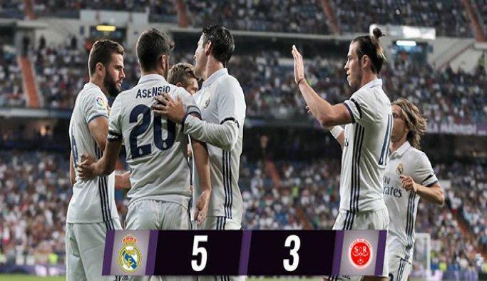 Santiago Bernabeu Kupası'nda gol düellosu